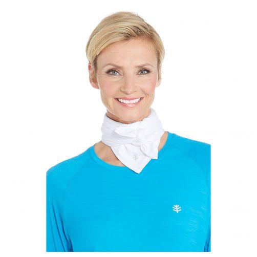 Coolibar---UV-resistant-Sport-Bandana-for-adults---Virasana---White