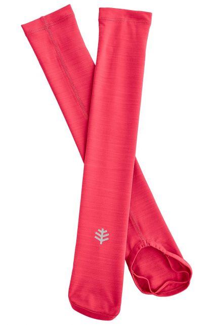 Coolibar---UV-performance-sleeves-for-kids---pink