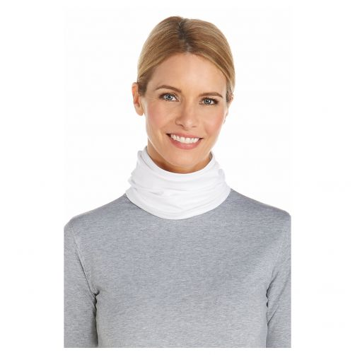 Coolibar---UV-neck-gaiter-unisex--White