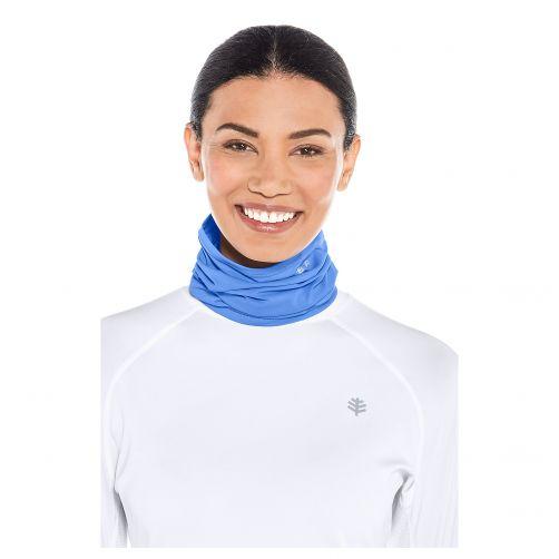 Coolibar---UV-sun-gaiter-for-men-and-women---blue