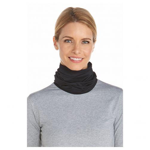 Coolibar---UV-neck-gaiter-unisex--Black