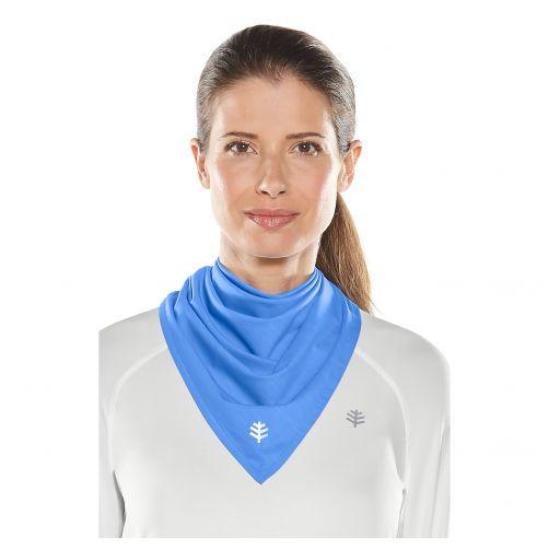 Coolibar---UV-resistant-bandana---Light-Blue