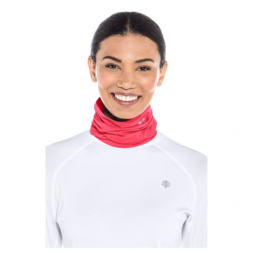 Coolibar---UV-sun-gaiter-for-men-and-women---pink