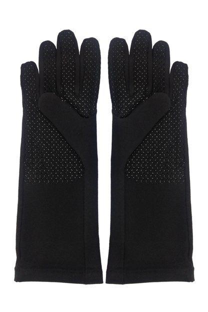 Coolibar---UV-resistant-gloves---Black