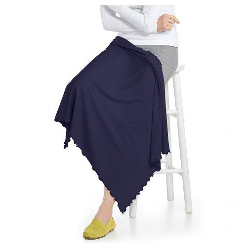 Coolibar---UV-sun-blanket---Navy