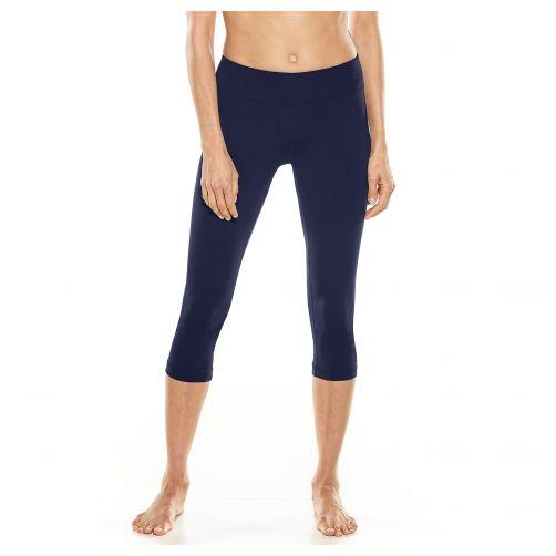 Coolibar---UV-swim-capris-for-women---dark-blue