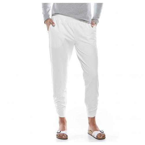 Coolibar---UV-pants-for-ladies---white