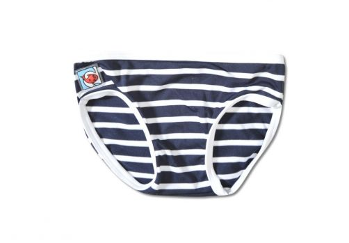 Little-Red-Fish---UV-Bikini-Bottoms-Kids--Blue/White-Stripes