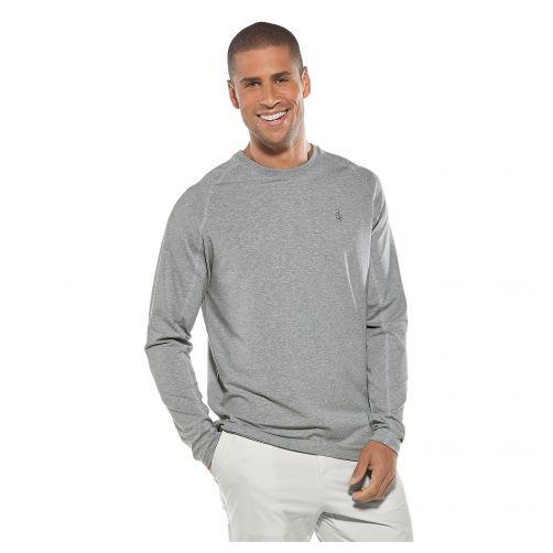 Coolibar---Long-sleeve-UV-shirt-for-men---heather-grey