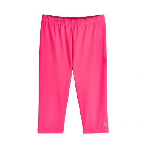 Coolibar---UV-capri-swim-leggings-for-kids---pink