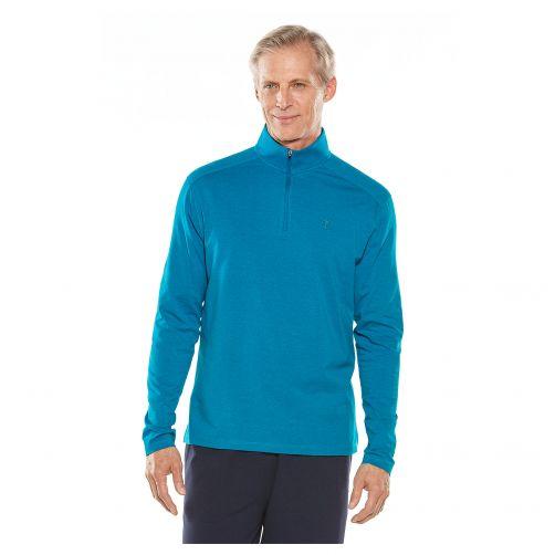 Coolibar---UV-shirt-for-men---blue