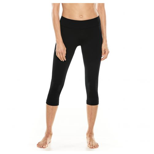 Coolibar---UV-swim-capris-for-women---black