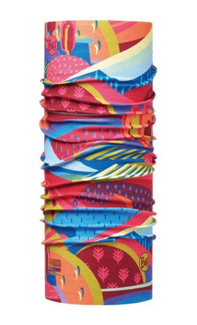 Buff---Kids'-UV-tube-scarf---Colourful-Mountains---Multi