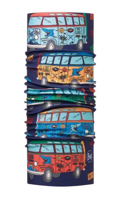 Buff---Kids'-UV-tube-scarf---Surf-Traveller---Dark-Navy