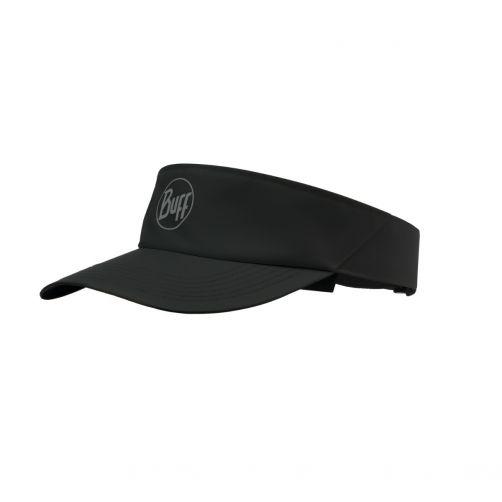 Buff---Sun-visor-for-adults---Reflective-Logo---Black-
