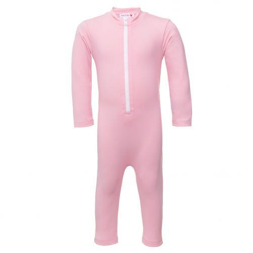 Petit-Crabe---UV-Swimsuit-longsleeve---Star---Light-Pink