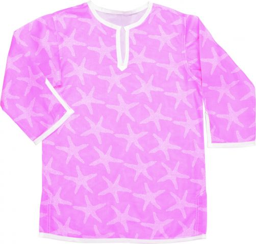 Snapper-Rock---Tunic-and-cover-up-girls---Pink-Starfish