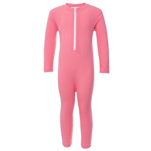 Petit-Crabe---UV-Swimsuit-longsleeve---Star---Pink