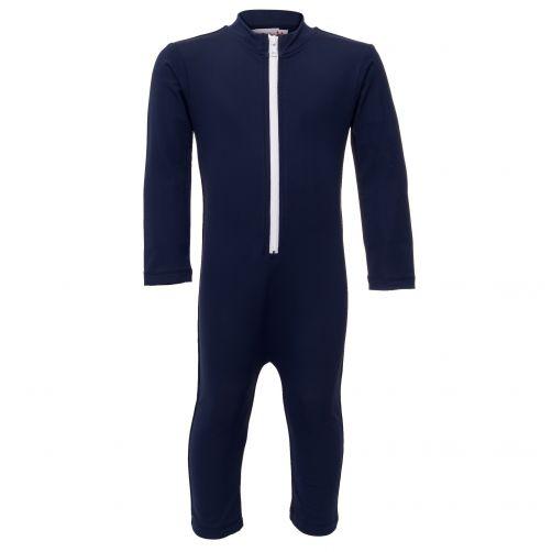 Petit-Crabe---UV-Swimsuit-longsleeve---Star---Navy