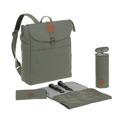Lässig---Diaperbag-Adventure-Backpack---Olivegreen