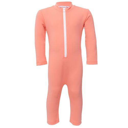 Petit-Crabe---UV-Swimsuit-longsleeve---Star---Coral