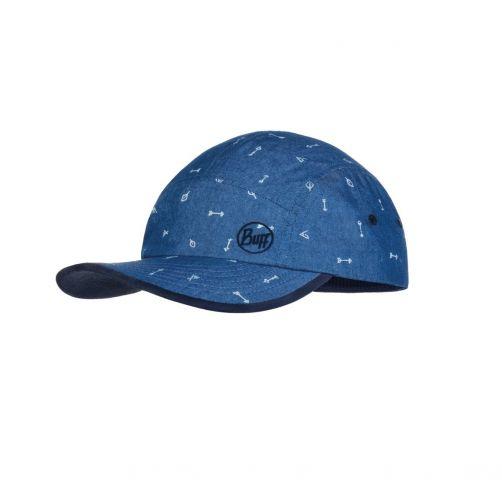 Buff---UV-sun-cap-for-kids---5-Panels---Arrows---Denim-Blue