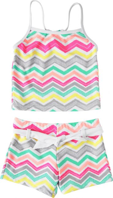 Snapper-Rock---UV-Tankini---Zig-Zag