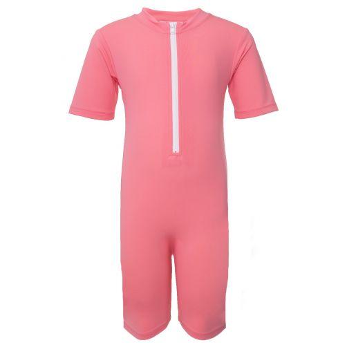 Petit-Crabe---UV-Swimsuit-short-sleeves---Popsicle---Pink