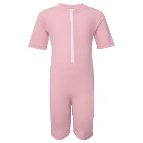 Petit-Crabe---UV-Swimsuit-short-sleeves---Star---Light-Pink
