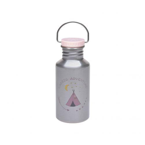 Lässig---Drinking-bottle---Stainless-steel---Adventure-Tipi