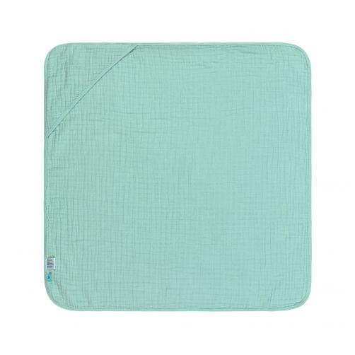Lässig---Hooded-towel---Muslin---Mint