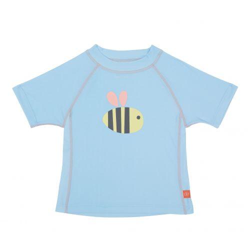 Lässig---UV-swim-shirt-for-children---Bumble-Bee---Light-blue