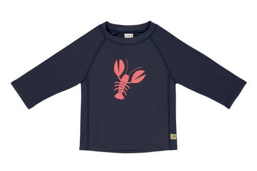 Lässig---Kids'-UV-swim-shirt---long-sleeve---Lobster---dark-blue