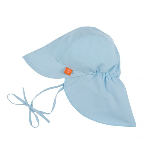 Lässig--UV-Flap-hat-for-children---Light-blue