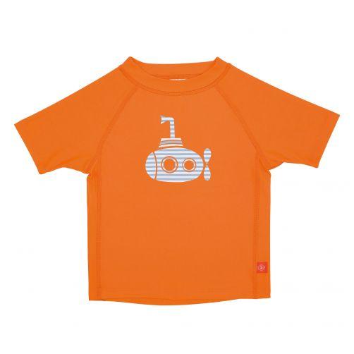 Lässig---UV-swim-shirt-for-children---Submarine---Orange