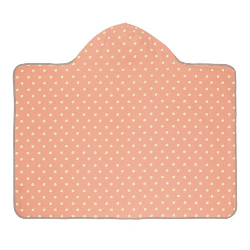 Lässig---Hooded-towel---Sun---Peach-/-Yellow