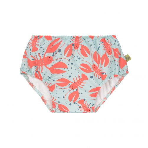 Lässig---Babies'-swim-diaper---Lobster---light-blue-/-orange