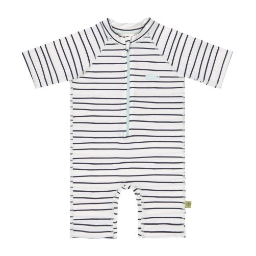 Lässig---Kids'-UV-swimsuit---short-sleeve---Stripes