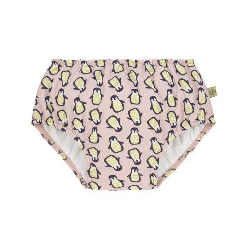 Lässig---Girl's-swim-diaper---Penguin---pink