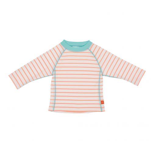 Lässig---UV-swim-shirt-for-children---long-sleeves---White/Peach/Blue