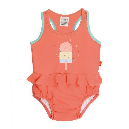 Lässig---Swimsuit-with-integrated-swim-diaper---Ice-Cream---Peach