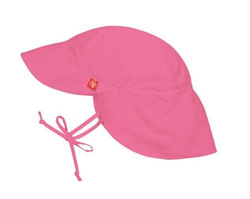 Lässig---UV-Flap-hat-for-children---Pink