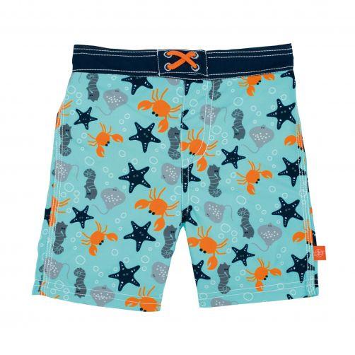 Lässig---Swim-shorts-for-boys---Star-Fish---Light-blue