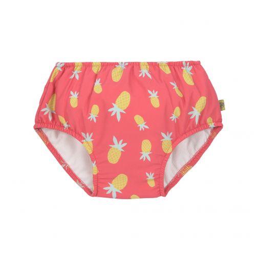 Lässig---Girl's-swim-diaper---Pineapple---pink-/-yellow