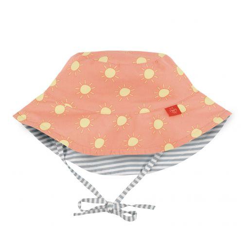 Lässig---UV-sun-hat-for-children-Sun---Peach