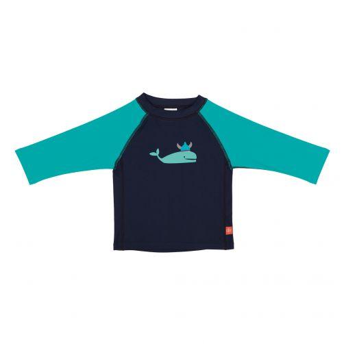 Lässig---UV-swim-shirt-for-children---Whale---Dark-Blue