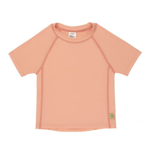 Lässig---Girls'-UV-swim-shirt---short-sleeve---peach