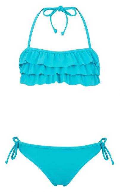 Snapper-Rock---Aqua-Ruffle-bandeau-bikini