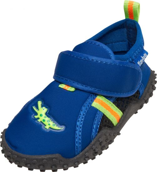 Playshoes---UV-swim-shoes-for-boys---Crocodile---Blue-/-green