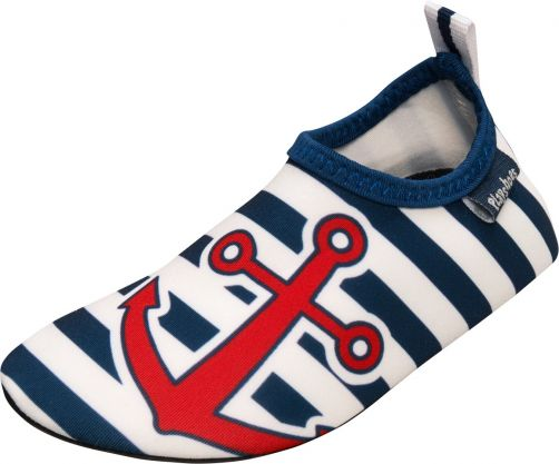 Playshoes---UV-swim-shoes-for-children---Maritime---Blue/white/red